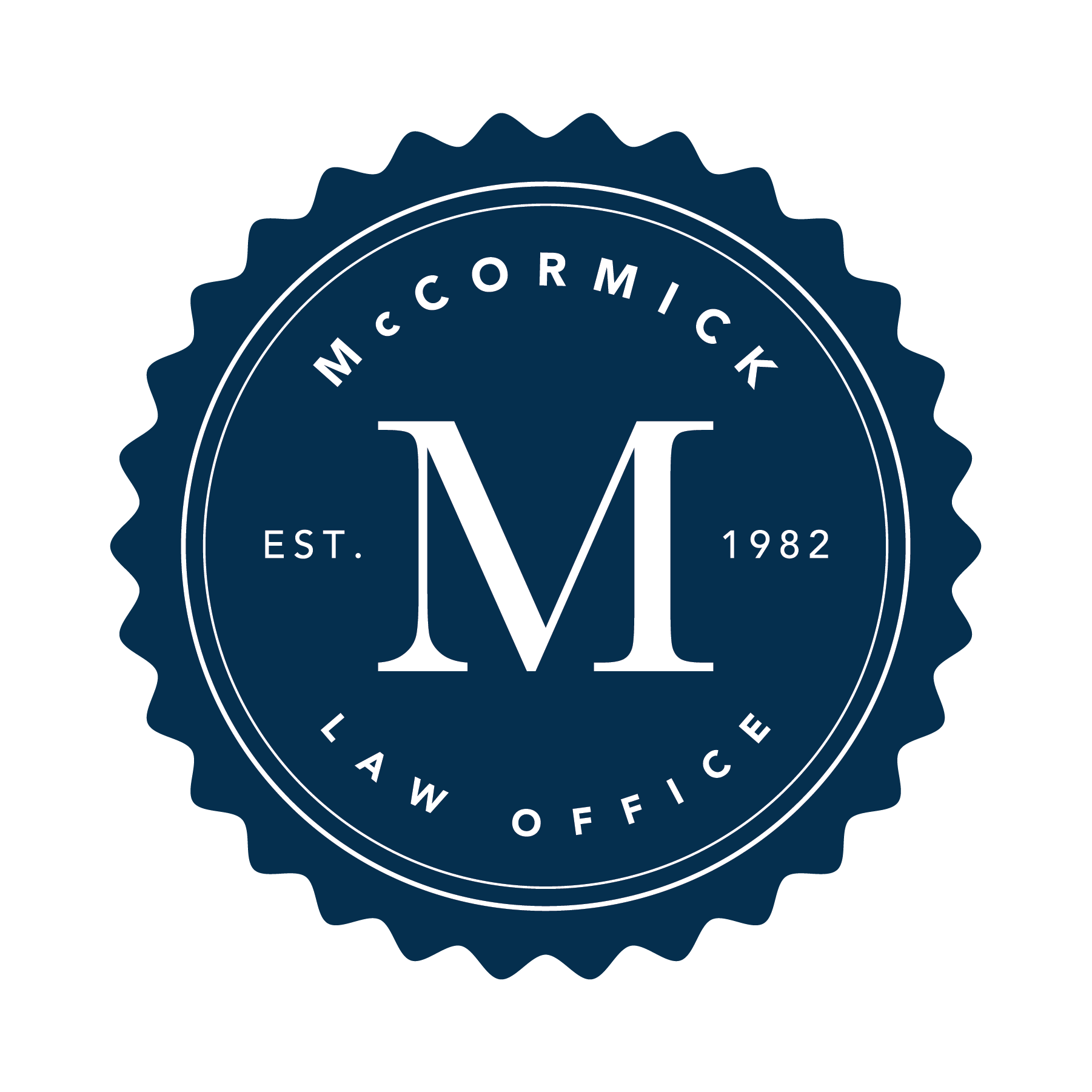 McCormick Law Office - Badge